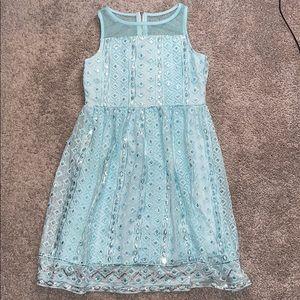 Girls justice 10 dress easter spring summer